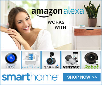 Amazon Alexa 'works with' at Smarthome.com -shop now!