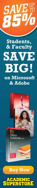 Adobe CS4 academic prices at Academic Superstore