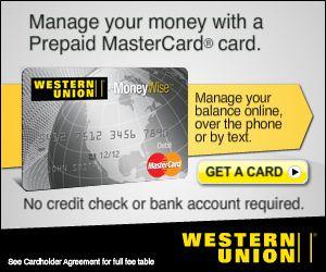 Western Union Card