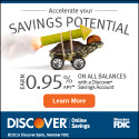 Discover Bank CD Promotion Offer