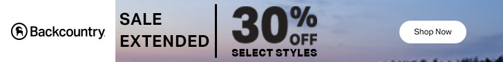 Cyber Monday Sale Extended - Save up to 30% Off at Backcountry.com