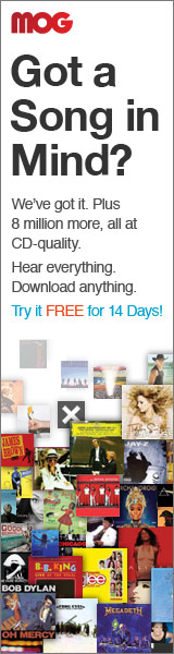 Get Unlimited Music On Demand at MOG