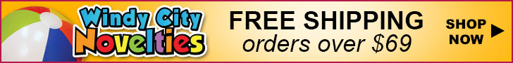 Party Supplies 120% Low Price Guarantee plus Free Shipping at Windy City Novelties