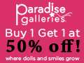24 Hour Black Friday Sale! Buy 1 Get 1 At 50% OFF!  Save Now At ParadiseGalleries.com!  Use code: JE