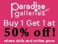 Paradise Galleries Dolls