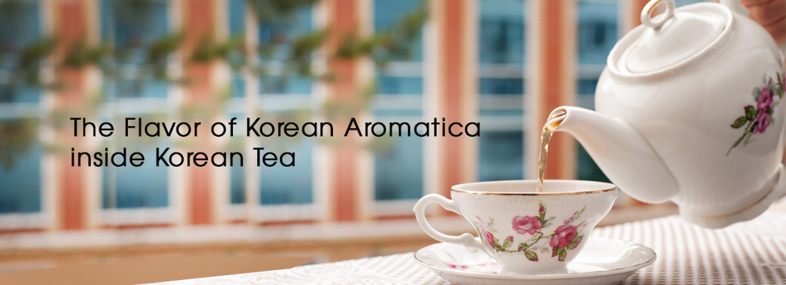 KOREAN HERB TEA AROMATICA UP TO 25% OFF. Enjoy the flavor of Korean Aromatica inside Korean Tea
