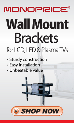 Heavy Duty TV Mount for LCD, LED and Plasma; Sold 1 Million +