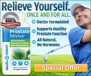 All Natural Prostate Supplement