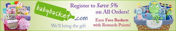 Register to Save 5%. Earn Free Baskets.