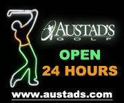 Open 24 Hours at Austad's Golf