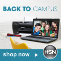 Shop HSN for Back to Campus needs!