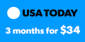 Deals on USA TODAY: 3-Month Subscription for $34.00 + Home Delivery for $2.50/week