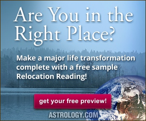 Try a free sample Relocation Reading from Astrology.com!