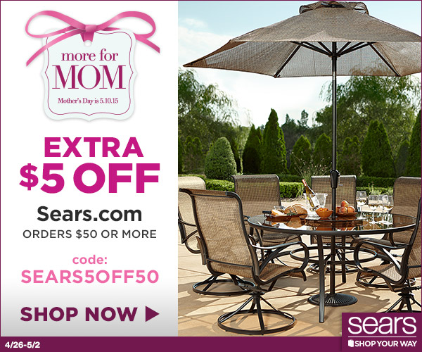 sears mother day sales
