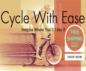 FREE SHIPPING//Cycle With Ease//Imagine Where You'll Take It