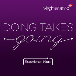Fly to London with Virgin Atlantic
