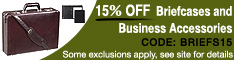 Additional 15% off Business Cases and Acces.