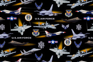 Air Force Jets by Dan Morris