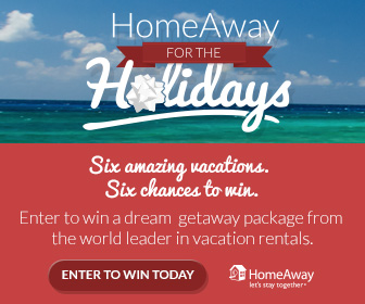 HomeAway for the Holidays