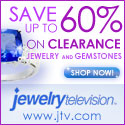Save up to 60% on clearance jewelry and gemstones at JeweleryTelevision!