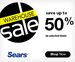Warehouse Sale on at Sears.ca