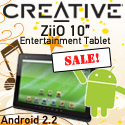 Creative introduces the ZiiO 10