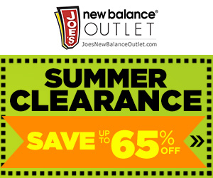 Joe's New Balance Outlet Summer Clearance Event