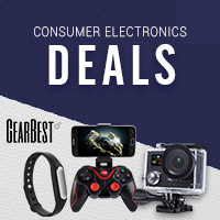 GearBest Consumer Electronics Banner