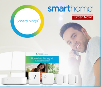 SmartThings Monitor Your Home or Office while away at SmartHome.com Order here!