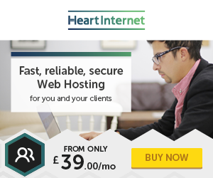 Heart Internet domain and hosting coupons