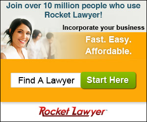 Incorporate with Rocket Lawyer