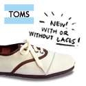 For every pair of shoes you purchase, TOMS Shoes gives away a pair of shoes to a child in need!