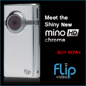 Flip MINO HD Chrome!