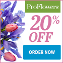 20% off Easter Flowers & Decor at ProFlowers (min $39) - 125x125