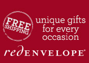Free Shipping on orders over $49 on 100s of new gifts from RedEnvelope