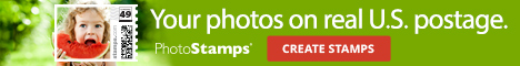 PhotoStamps banner ad