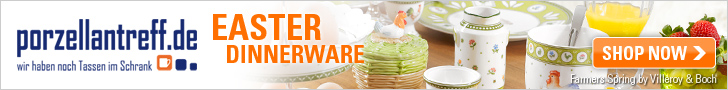 Discover our Easter market with a great variety of spring and Easter dinnerware and decorative acces