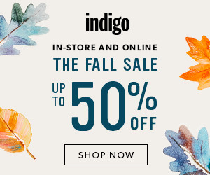 The Fall Sale at Indigo!