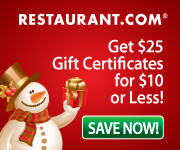 Holidays at Restaurant.com