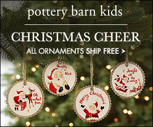 CHRISTMAS CHEER! All Ornaments Ship Free