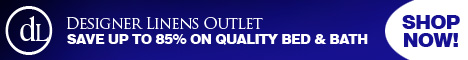 Designer Linens Outlet - Save up to 85%