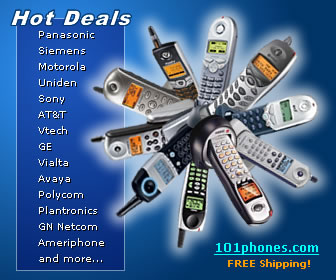 Hot Deals on Cordless and Corded Phones