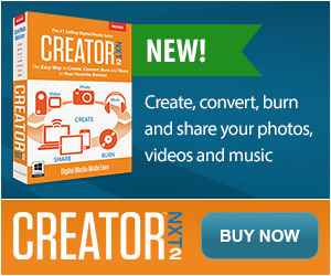 Roxio Creative for Creator 2010