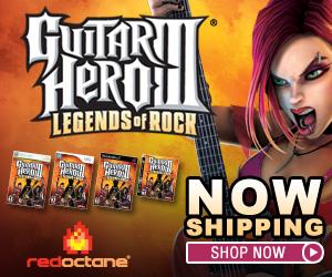Buy Guitar Hero III at the RedOctane Store