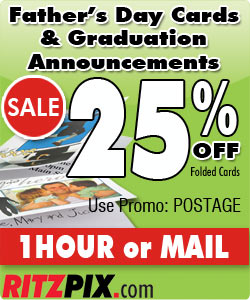25% Off Father's Day and Graduation Folded Cards