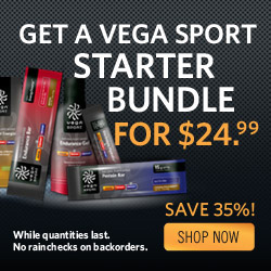 Save 35% off the Vega Sport Starter bundle