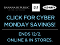 30% Off Old Navy and 40% off Banana Republic and Gap (Ends TODAY!)