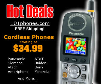 Great Deal on Cordless and Corded Phones