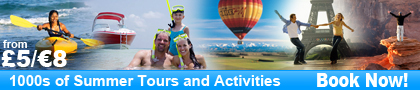 Browse 1000s of summer tours and activities