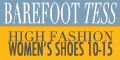 Barefoot Tess- Large Size Women's Shoes and Boots
